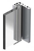 Profil pentru toc aluminiu - 5,80m